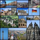 Germany landmarks — Stock Photo