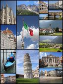 Italy attractions — Stock Photo