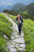 Hiking in Tatra Mountains — Stock Photo