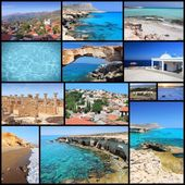 Cyprus collage — Stock Photo
