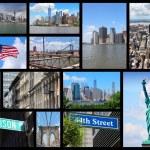 cartolina di New york city — Foto Stock #74289607