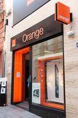 Orange telecom — Stock Photo