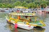 Paraty fishing boat — Stock Photo