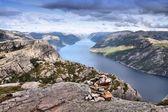 Lysefjord, Norway — Stock Photo