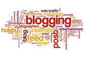 Blogging — Stock Photo