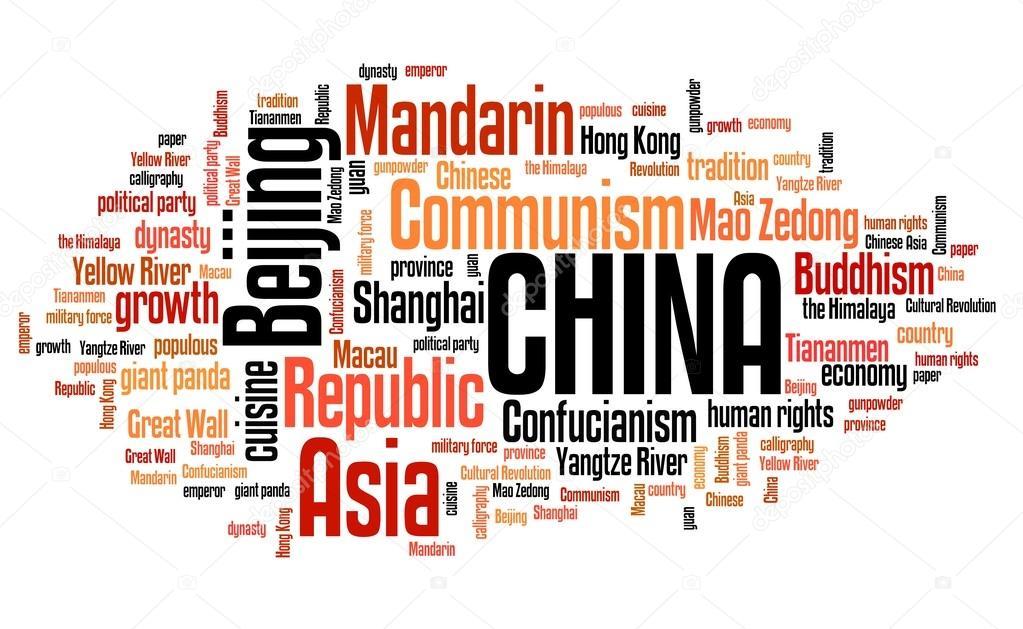 China - word cloud — Stock Photo © tupungato #96666838