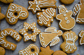 Christmas cookies assorted — Stock Photo