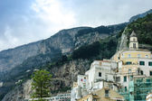 Amalfi cityscape — Stock Photo