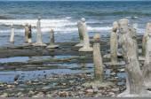 Stonework statues — Stock Photo