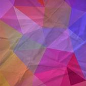 Retro triangle background — Stock Vector
