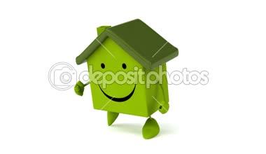 Funcionamiento de la casa — Vídeo de Stock