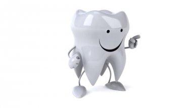 Tooth   dancing — Stock Video