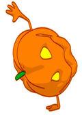 Kürbis orange — Stockfoto