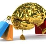 Brain on shopping — Stock Photo #54280769