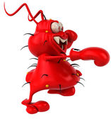 Red germ boxer — Stock Photo
