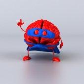 Super brain — Stock Photo