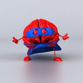 Super brain — Стоковое фото