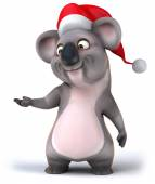 Chritmas koala — Stock Photo