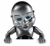 Baby Robot — Stock Photo