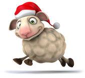 Moutons de noël — Photo