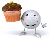 Pelota de golf con Magdalena — Foto de Stock