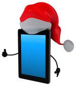 Christmas tablet — Stock Photo