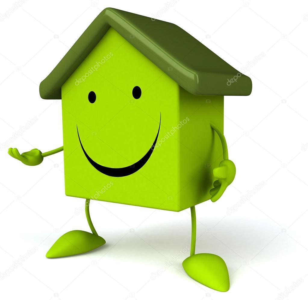 绿房子 — 图库照片08julos#56630661
