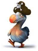 Cartoon Dodo bird — Stockfoto