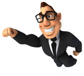 Business man in glasses and suit — Stock Photo
