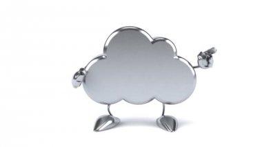 Fun cloud dancing — Stock Video