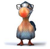 Dodo bird in glasses — Stockfoto