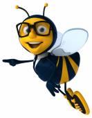 Fun business bee — Foto Stock