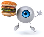 Fun cartoon eye — Stock Photo
