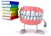 Fun cartoon teeth — Stock Photo
