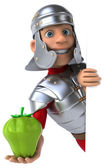 Cartoon Roman soldier — Stock Photo