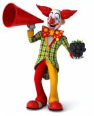 Fun cartoon clown — Stock Photo