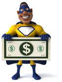 Divertidos dibujos animados de superhéroes — Foto de Stock