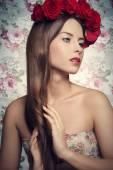 Splendid spring woman  — Stock Photo