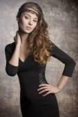 Elegante Mode-Mädchen — Stockfoto