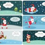 Set of Christmas banners — Stock Vector #55477789