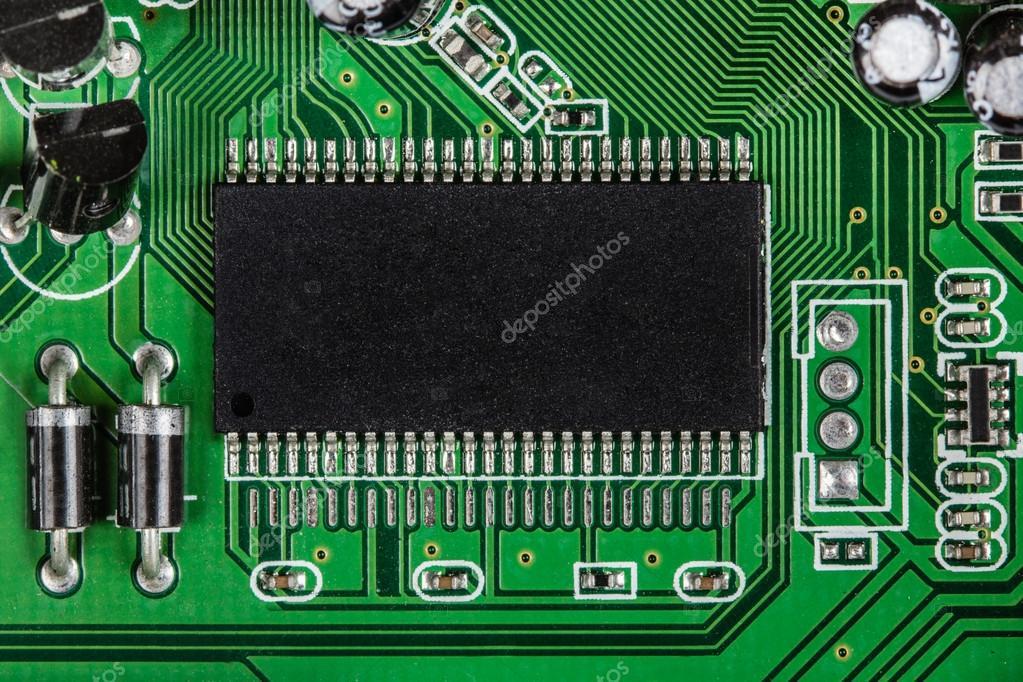 правление электронной схемы с