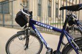Police Bikes — Stock Photo