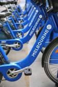 Melbourne Bike Share — Stock Photo