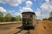 Victoria Falls Tram — Stock Photo
