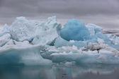Icebergs — Stock Photo
