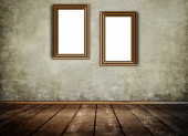Old wooden frames. — Stock Photo