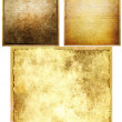 Old grunge paper textures set. — Stock Photo #59856687