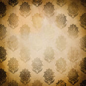 Vintage paper with floral patterns. — Stock Photo