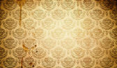 Grunge paper background with floral vintage patterns. — Stock Photo