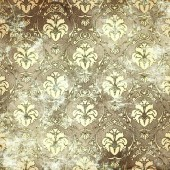 Old paper background with vintage patterns. — 图库照片